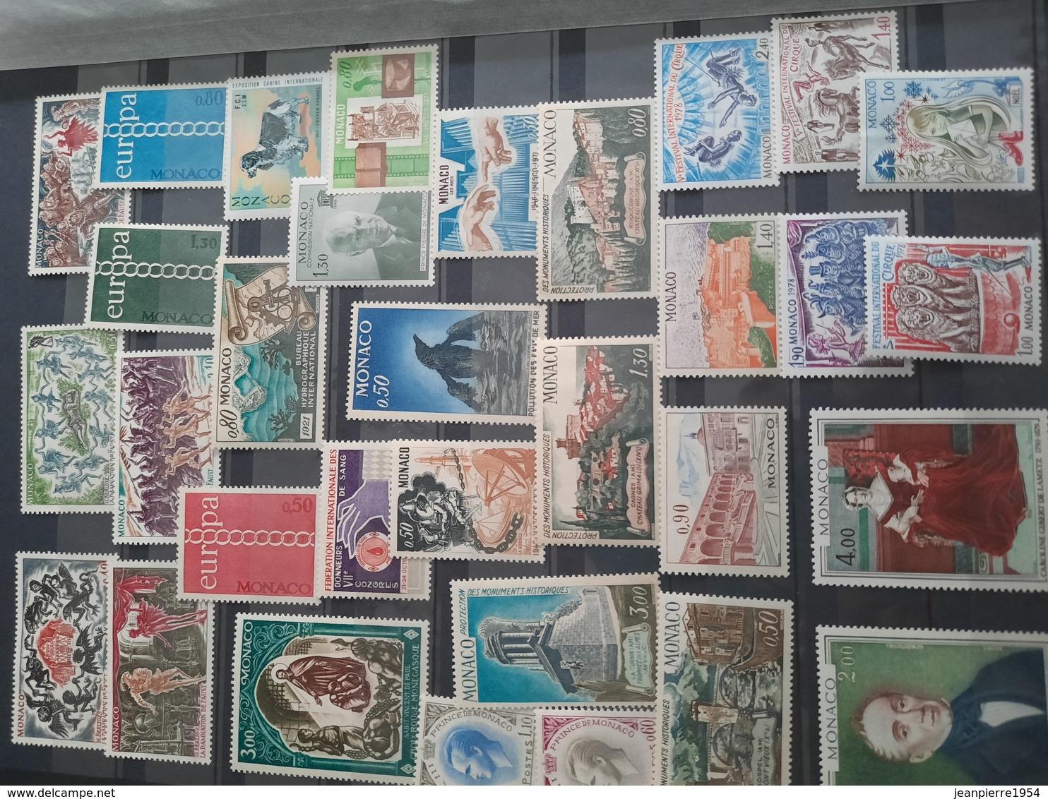 Timbres Du Monde (avec Monaco Neuf - Collections (with Albums)