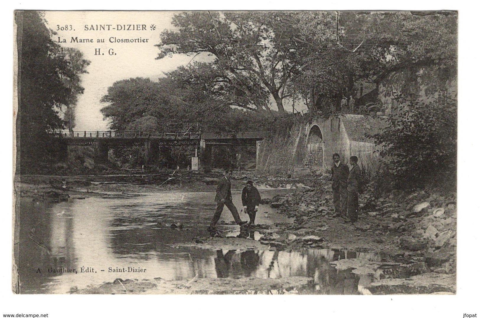 52 HAUTE MARNE - SAINT DIZIER La Marne Au Closmortier - Saint Dizier
