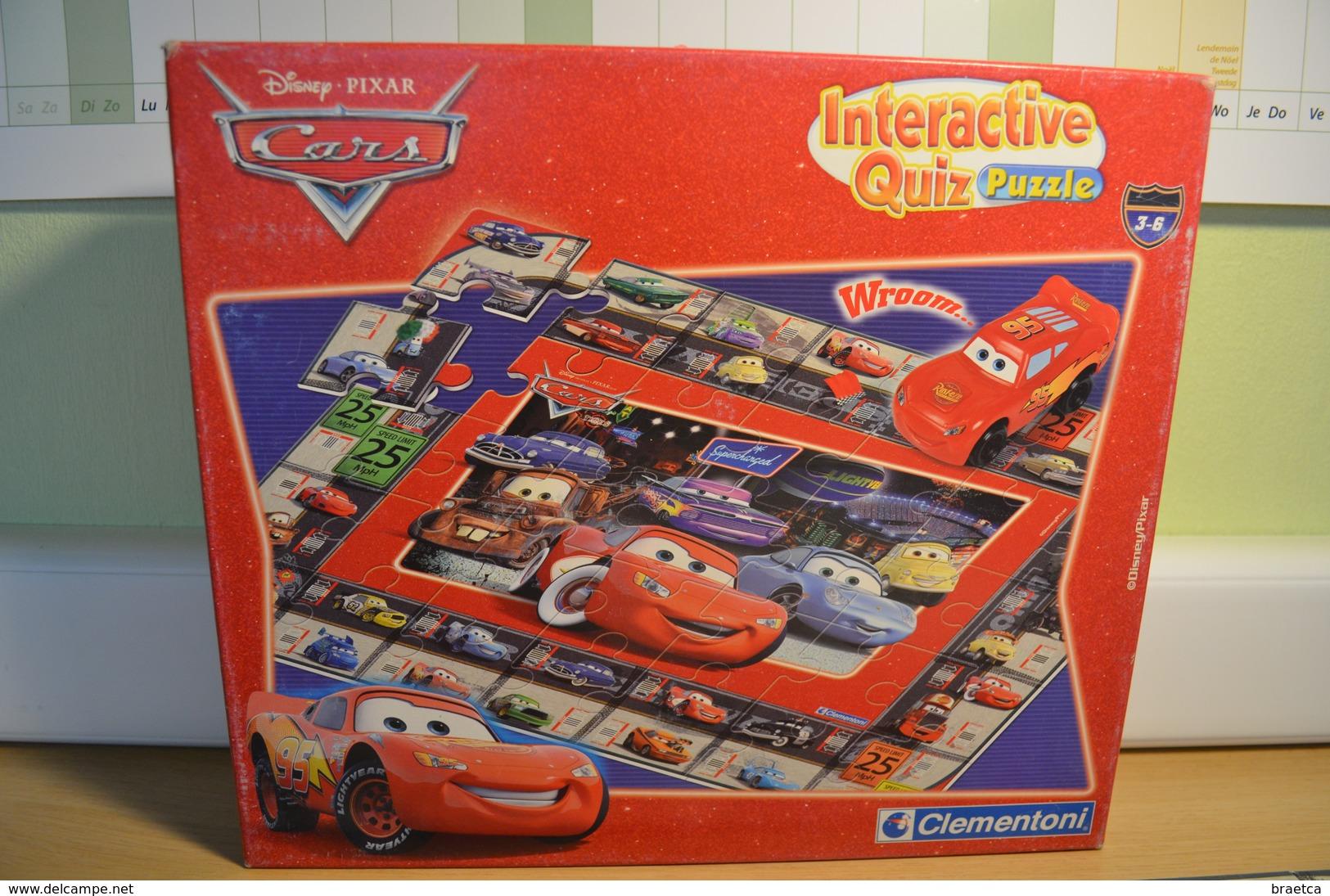 Jeux Quizz Interactif Cars Puzzle - Group Games, Parlour Games