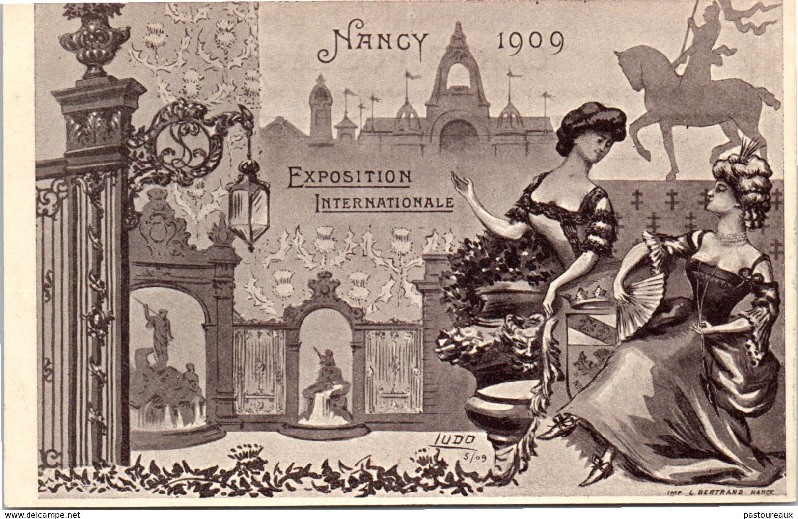 54 NANCY - Exposition Internationale De 1909 - Nancy