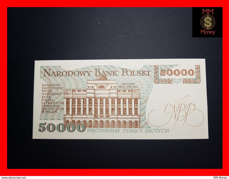 POLAND 50.000 50000 Zlotych 1.12.1989 P. 153  UNC - Polen