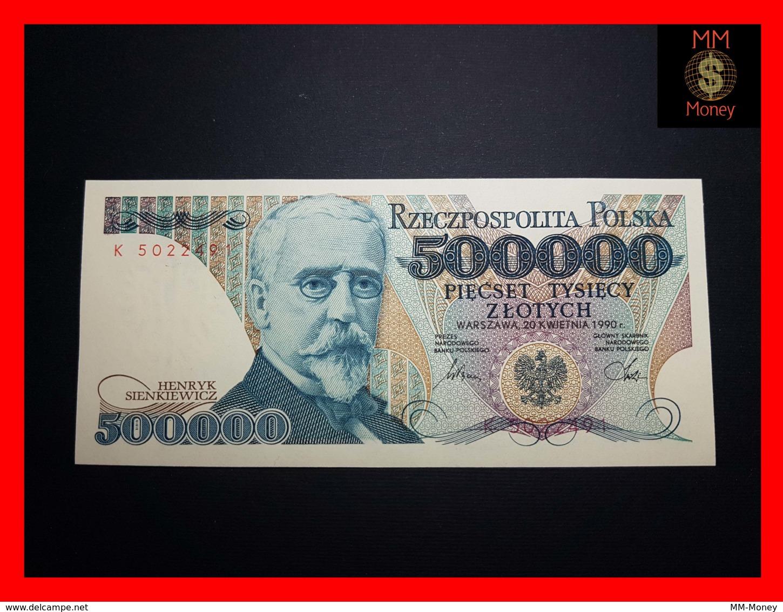 POLAND 500.000 500000 Zlotych 20.4.1990 P. 156  UNC - Polen