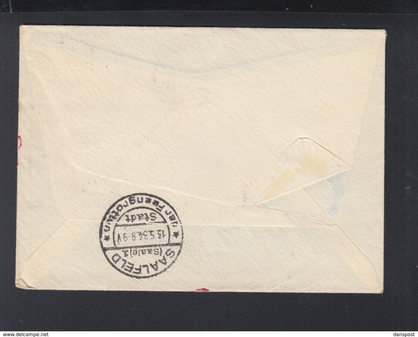 Dt. Reich Expresbrief 1934 Bensheim Nach Saalfeld - Briefe U. Dokumente
