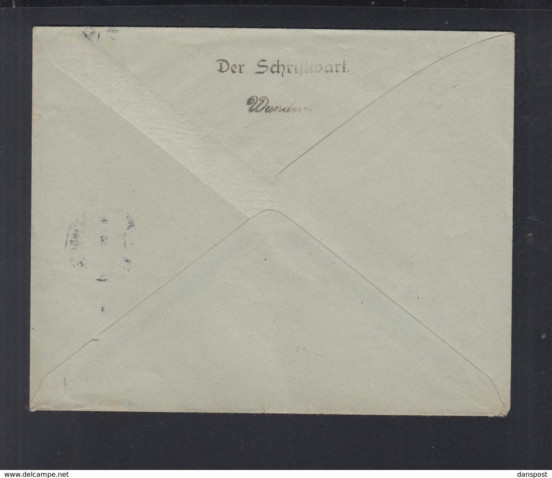 Dt. Reich Drucksache München 1921 - Briefe U. Dokumente