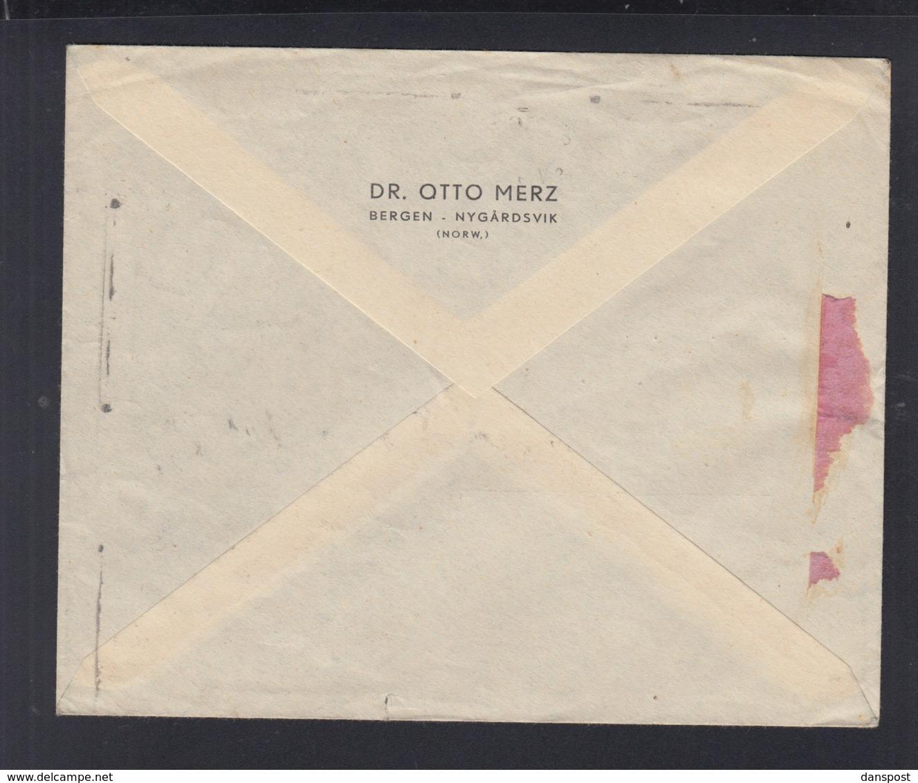 Norwegen Norway Brief 1934 Bergen Nach München - Norwegen