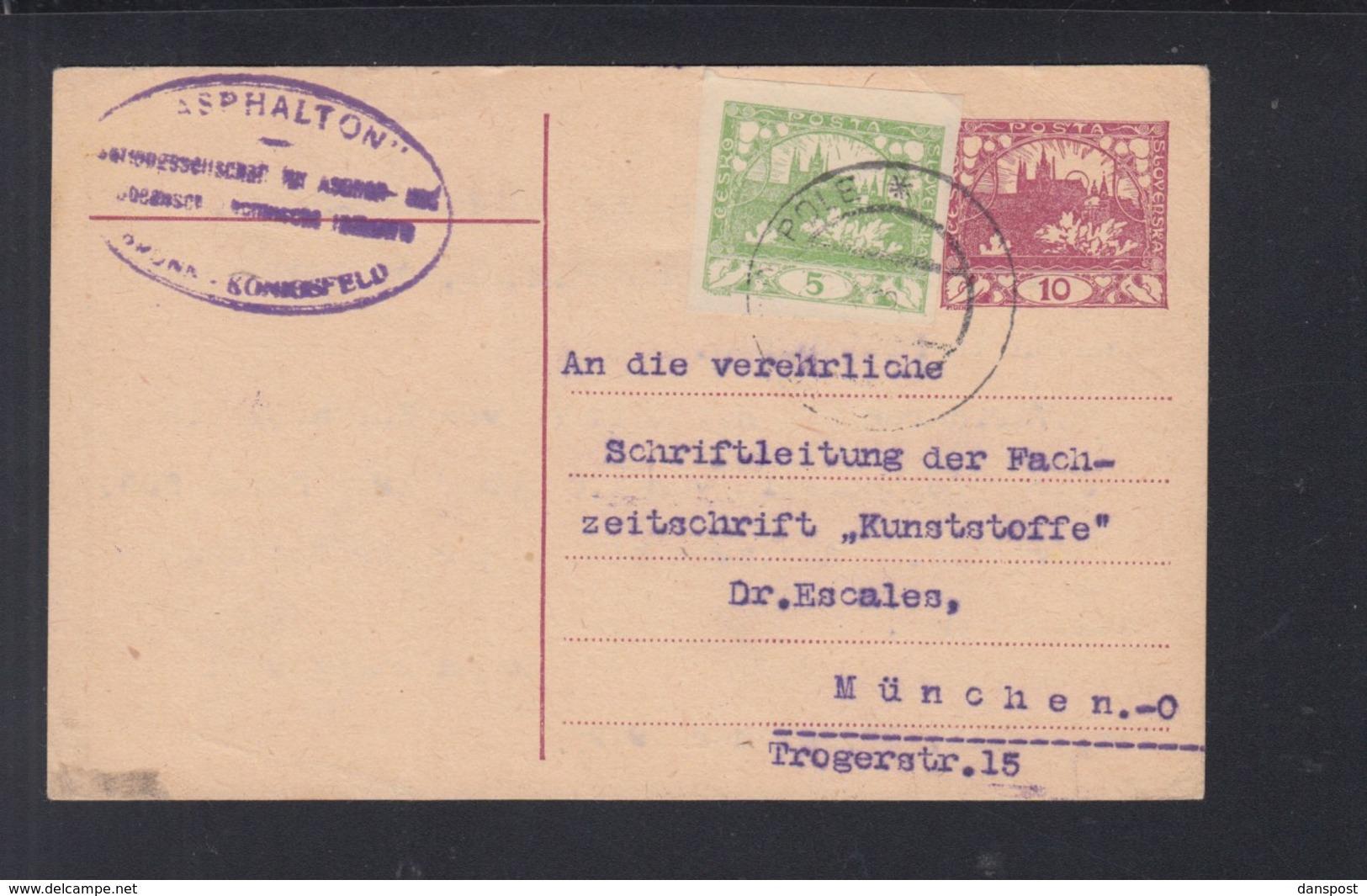 CSR GSK Mit ZuF Königsfeld Nach München - Tschechoslowakei/CSSR