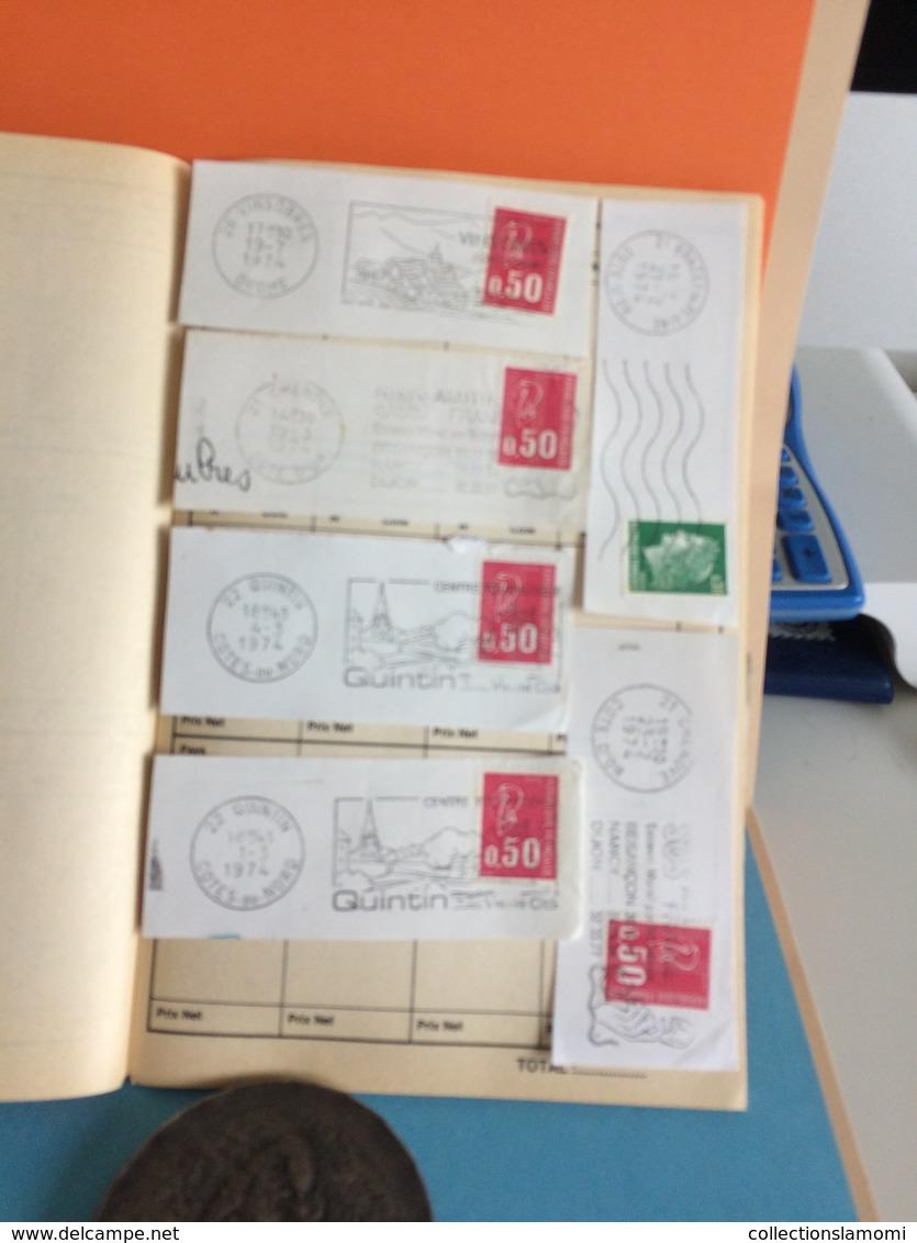 Lot En Vrac Timbres à Thème Du Monde Voir Pays + 16 FDC Avec Défaut Et Flammes France  Plusieurs Photos (lot N°25 ) - Verzamelingen (zonder Album)
