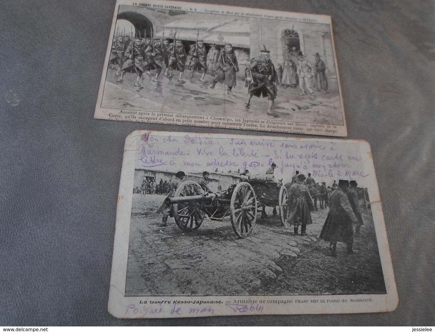 LOT DE 24 CPA / LE CONFLIT RUSSO JAPONAIS 1904 - 5 - 99 Postcards