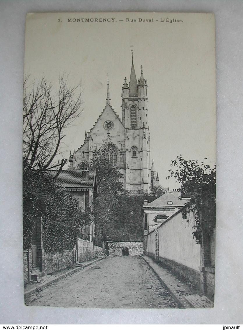 MONTMORENCY - Rue Duval - L'église - Montmorency