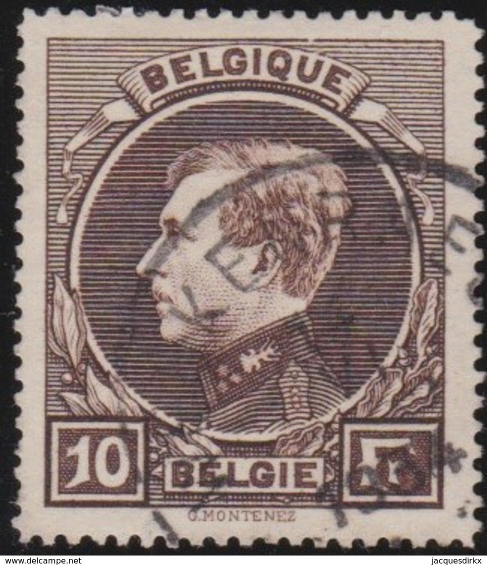 Belgie    .    OBP .    289  . Perf. 14½        .     O     .      Gebruikt   .    /    .   Oblitéré - Usati