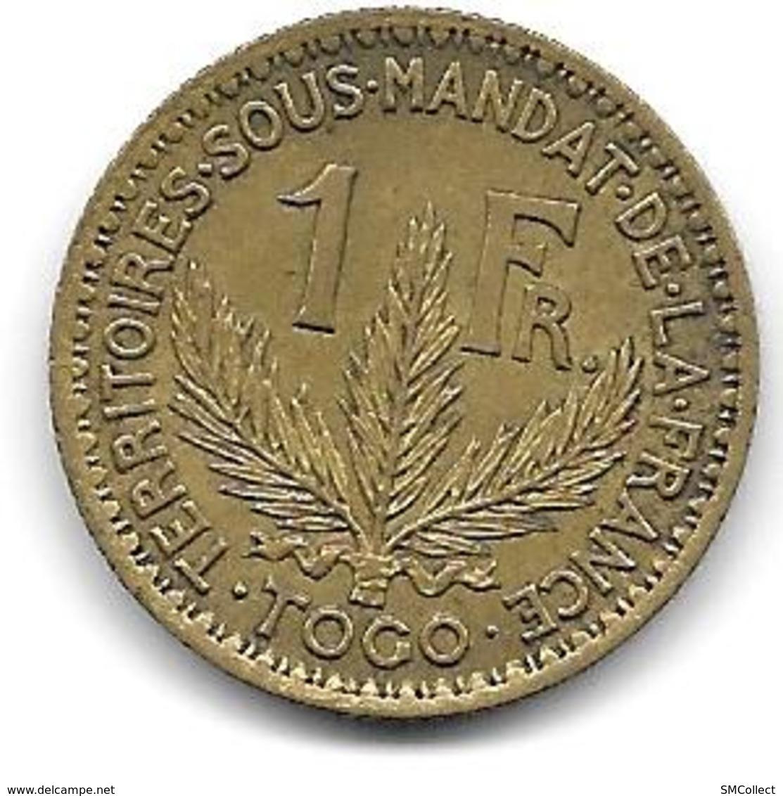Togo, 1 Franc 1924 - Togo