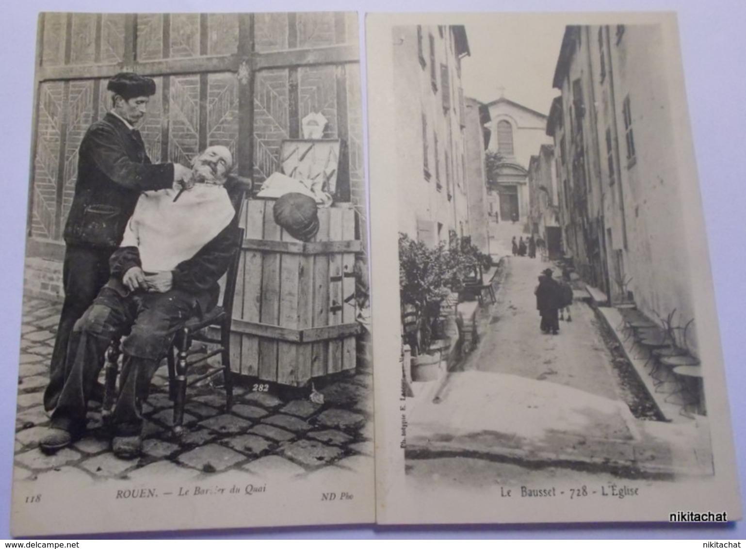 BEAU LOT 100 CARTES POSTALES Toutes Scannées-Nombreuses Animations- DEPART 1 EURO-A VOIR!! - Postcards