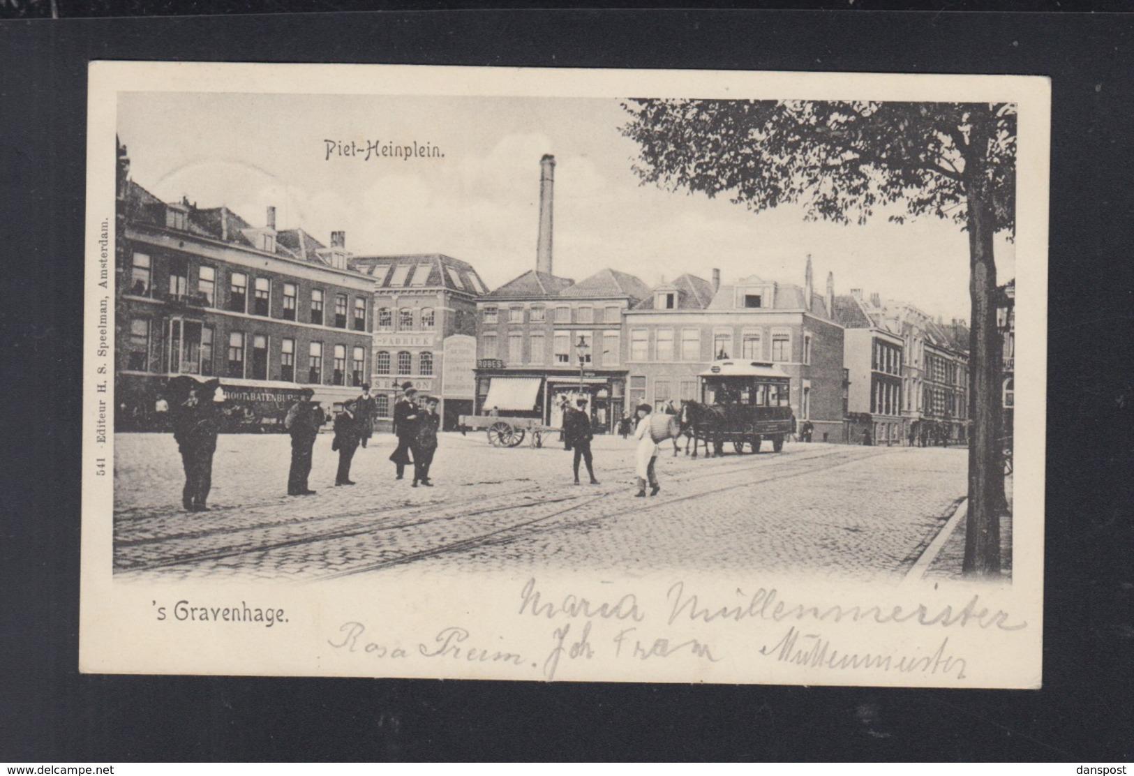 Niederlande AK 's Gravenhage Piet-Heinplein 1908 - Den Haag ('s-Gravenhage)