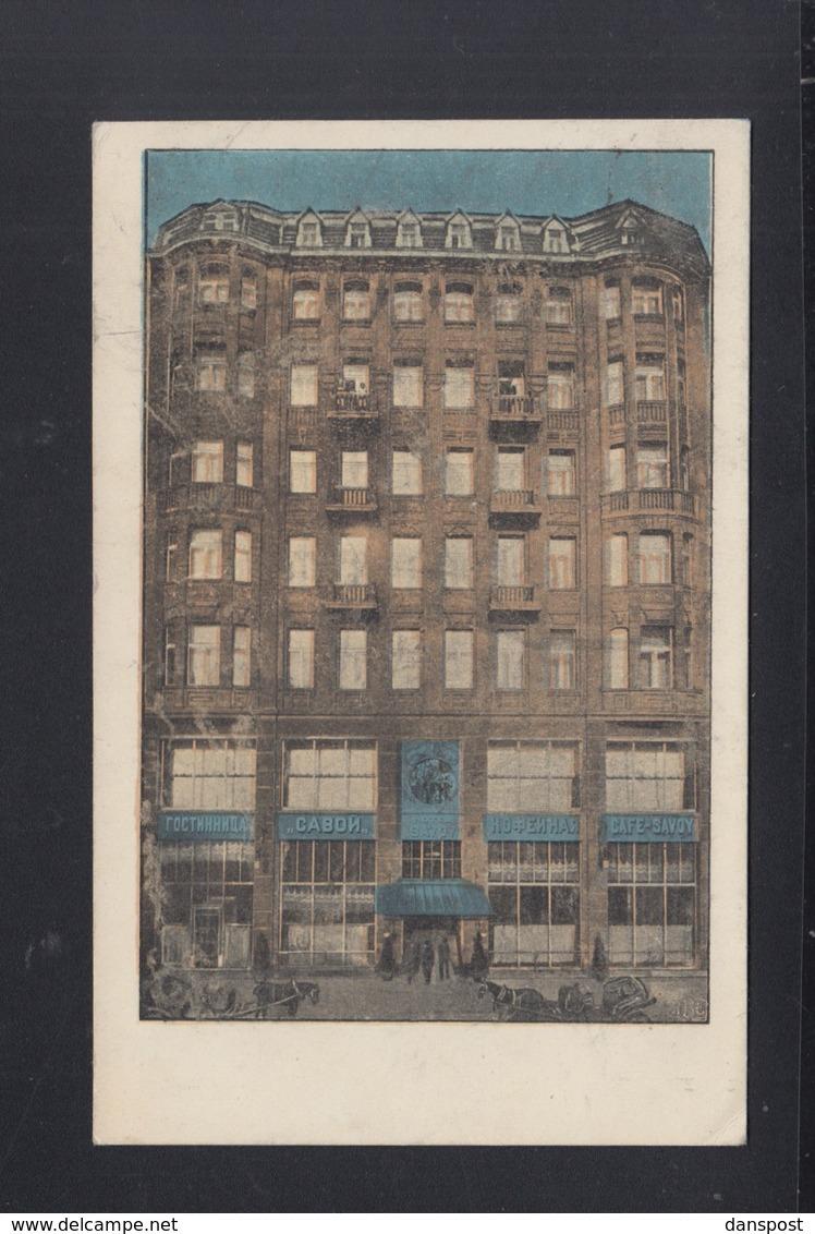 Polen Poland AK Lodz Hotel Savoy 1915 - Polen