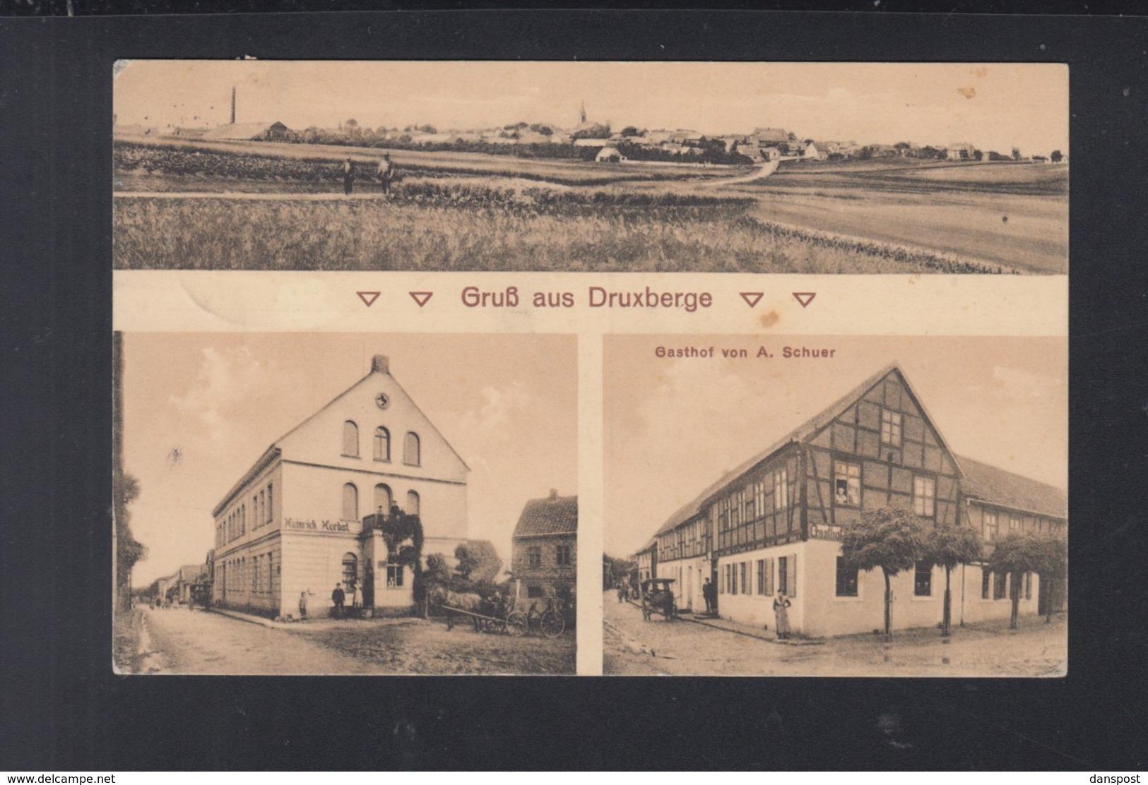 Dt. Reich AK Druxberge - Eisleben