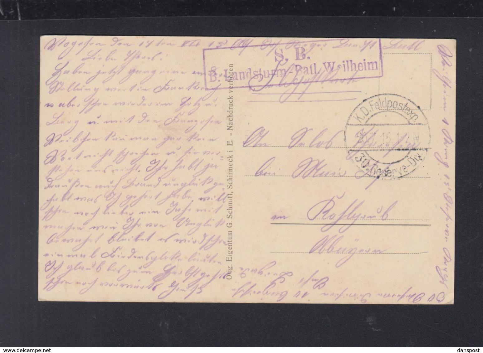 Frankreich France AK Fouday 1915 - Frankreich