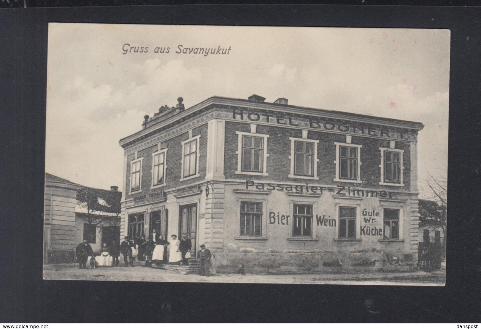 Österreich AK Bad Sauerbrunn Savanyukut 1912 - Österreich