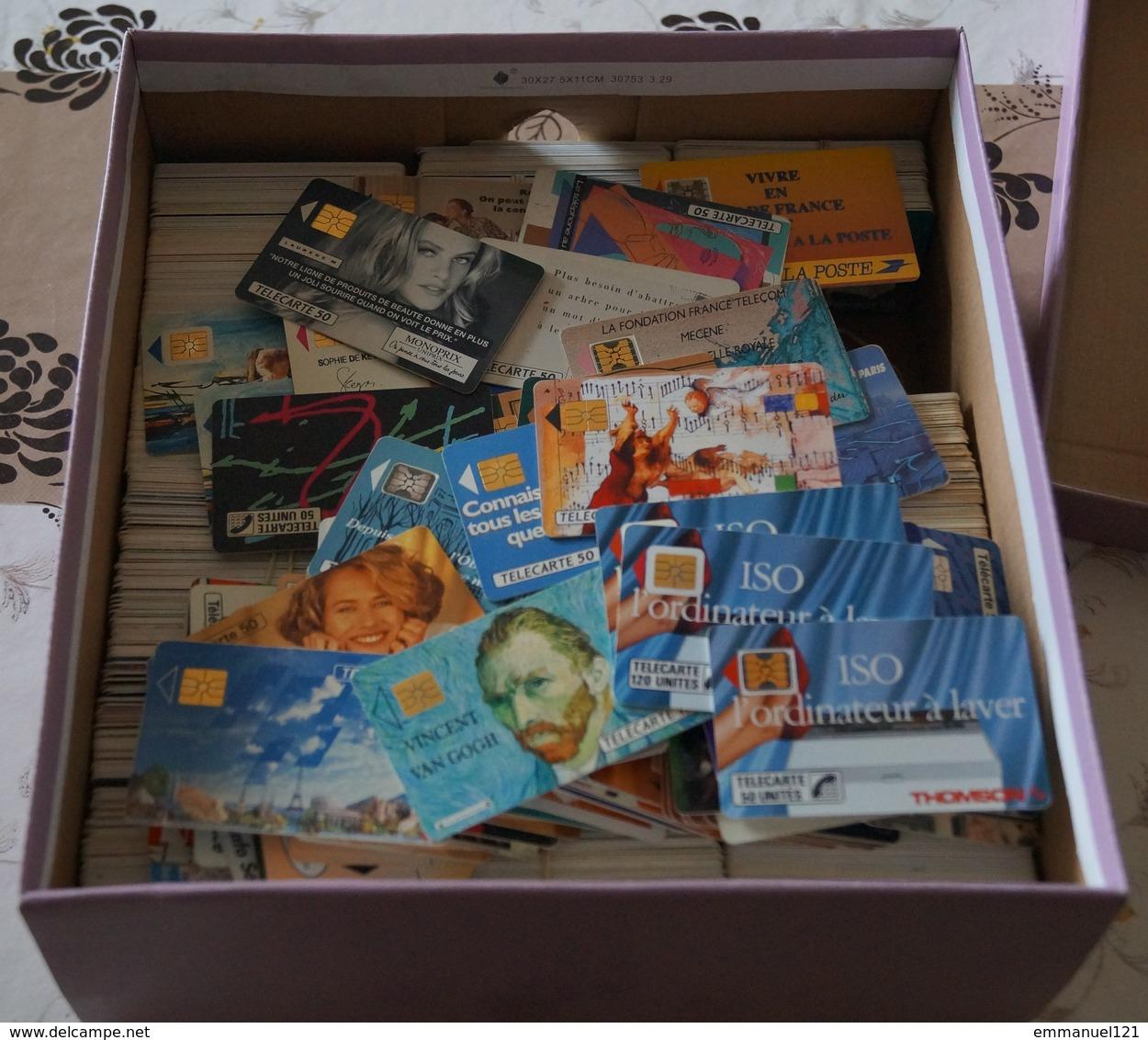 1000 Telecartes Joli Lot Pour Compléter Collection - Phonecards
