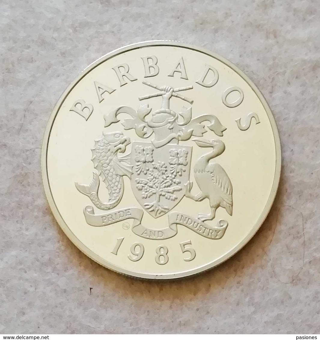 Barbados 20 Dollars 1985 (Argento 925) NC - Barbados
