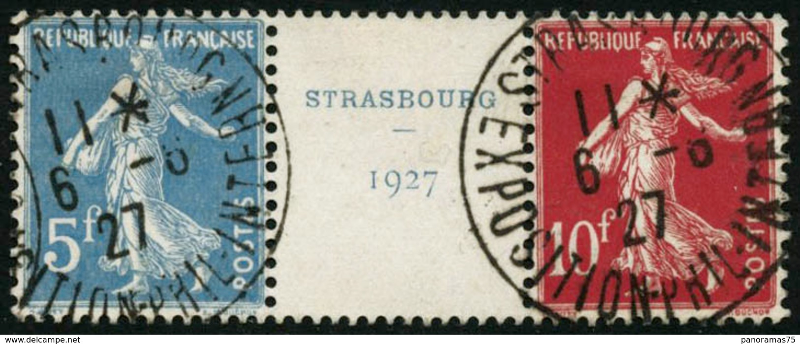 Obl. N°242A La Bande Strasbourg - TB - France