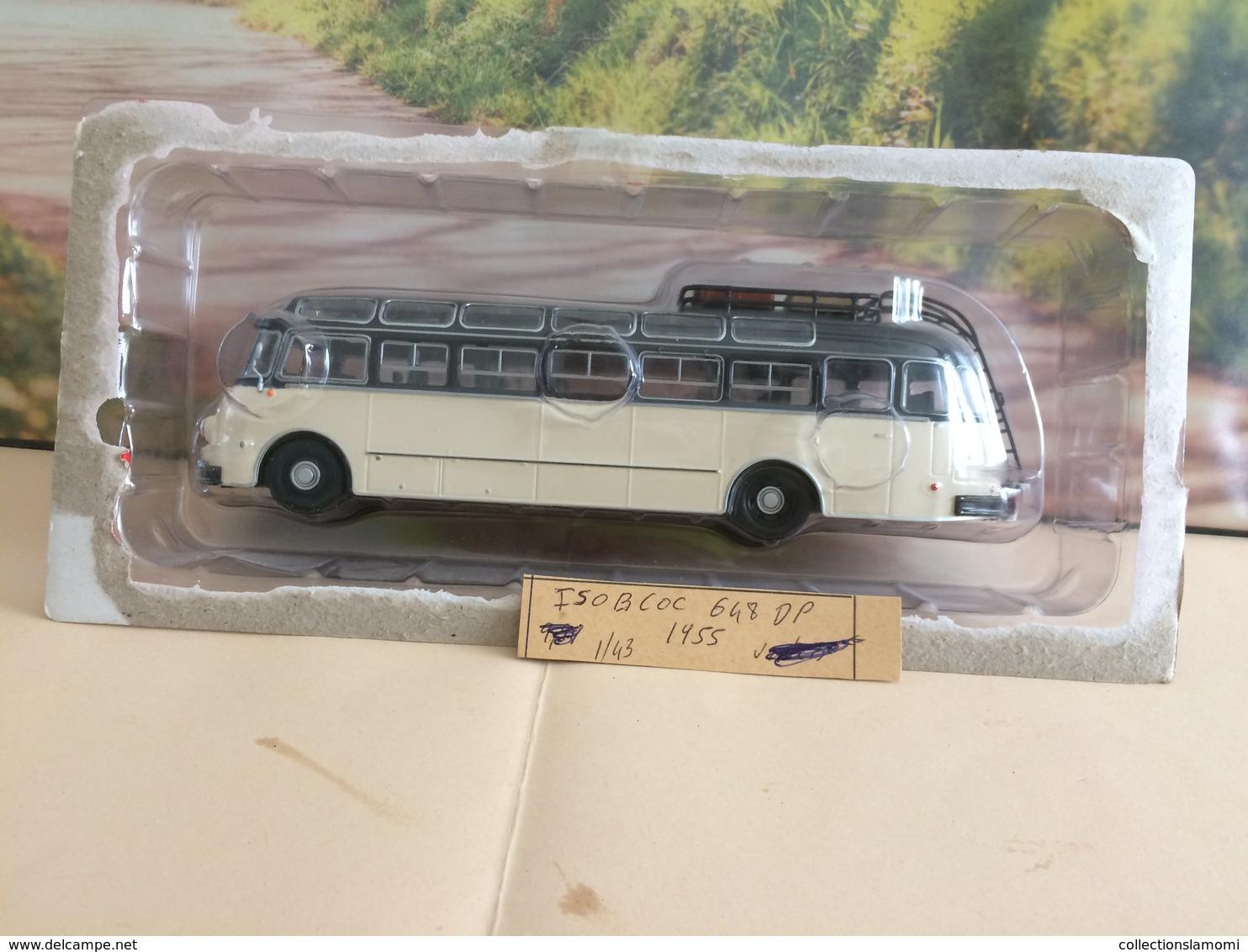 Bus-  Isobloc 648 DP - 1955 - échelle 1/43  Neuf Métal - Voir Photos (envoie Colissimo) - Commercial Vehicles