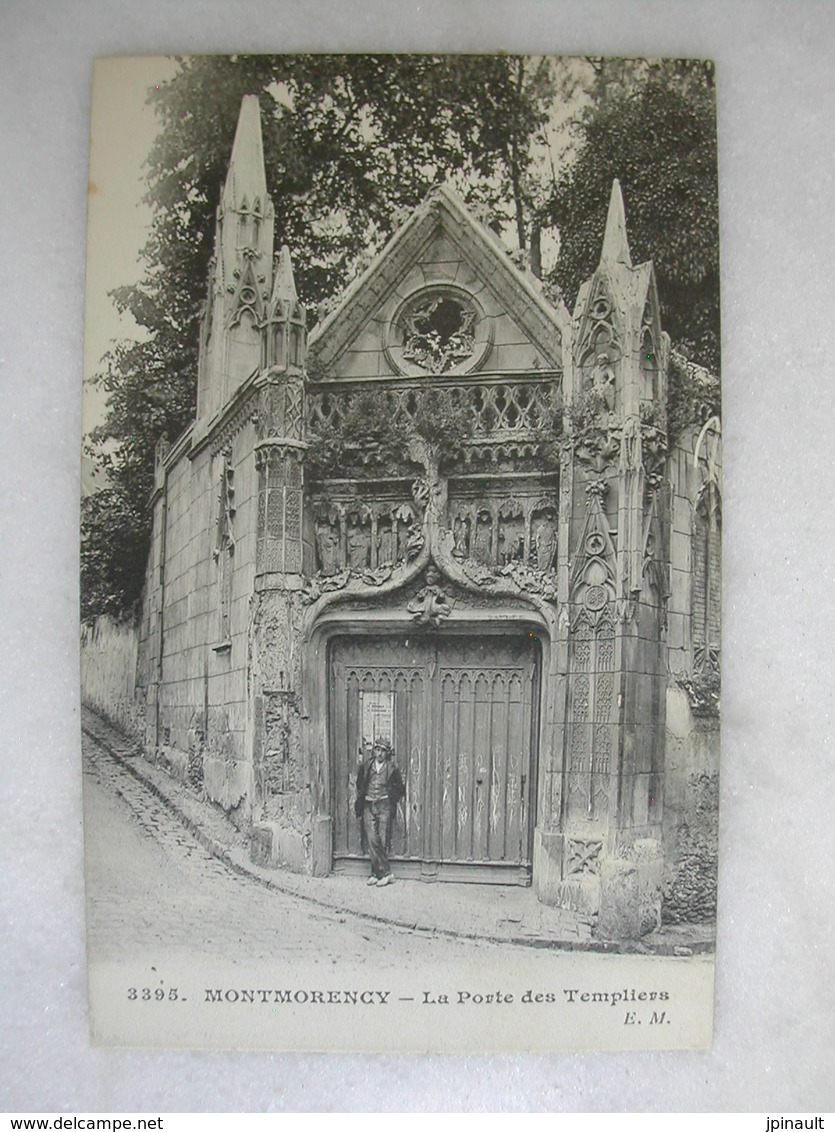 MONTMORENCY - La Porte Des Templiers (animée) - Montmorency