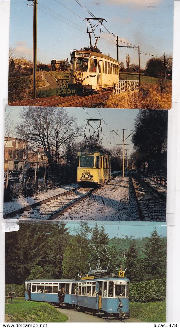 MAGNIFIQUE COLLECTION DE 72 CARTES DE TRAMWAYS / TOUTES SCANNEES / A VOIR /PETIT PRIX DE DEPART - Tranvía