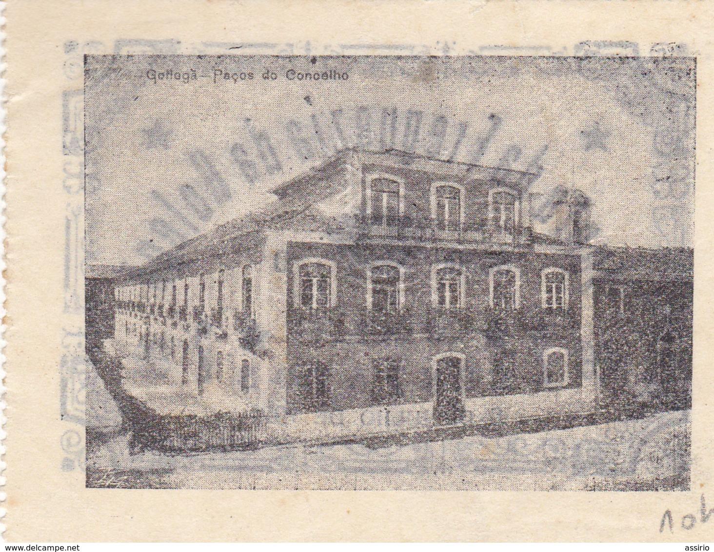 Portugal -- Cédula De Golegã 2 Ctv Nº1049  --    1921  Com Letras Sonbriadas - Portugal