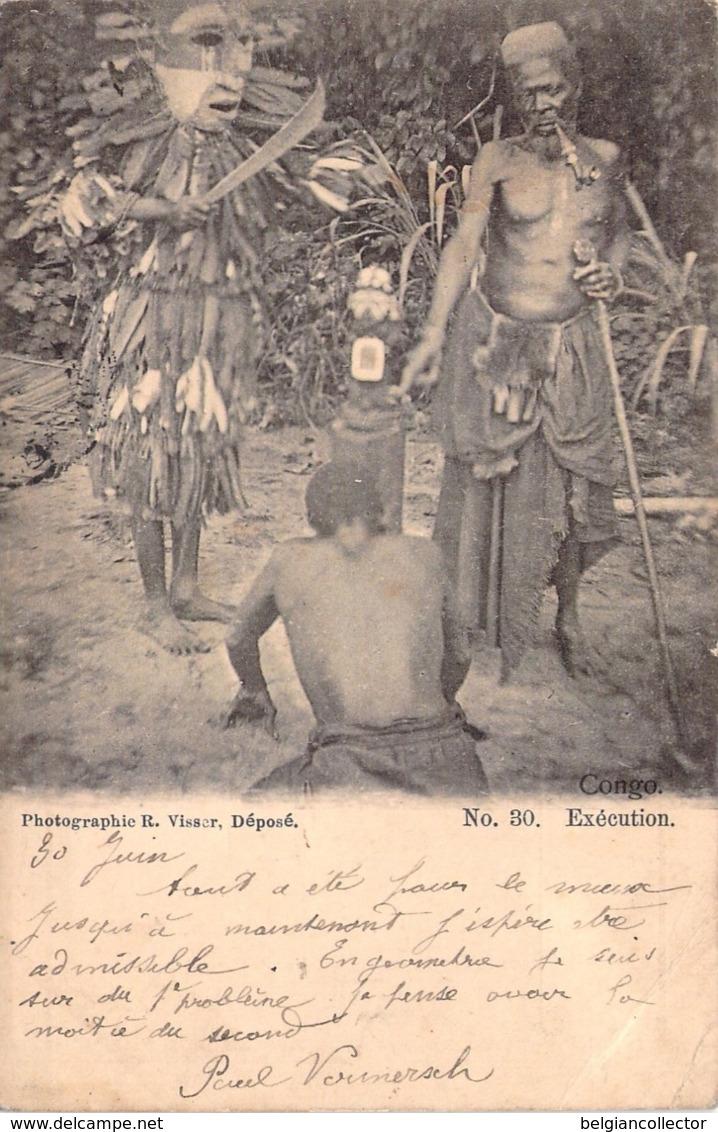 Congo - Exécution - Photographie R. Visser N° 30 - Belgisch-Congo - Varia
