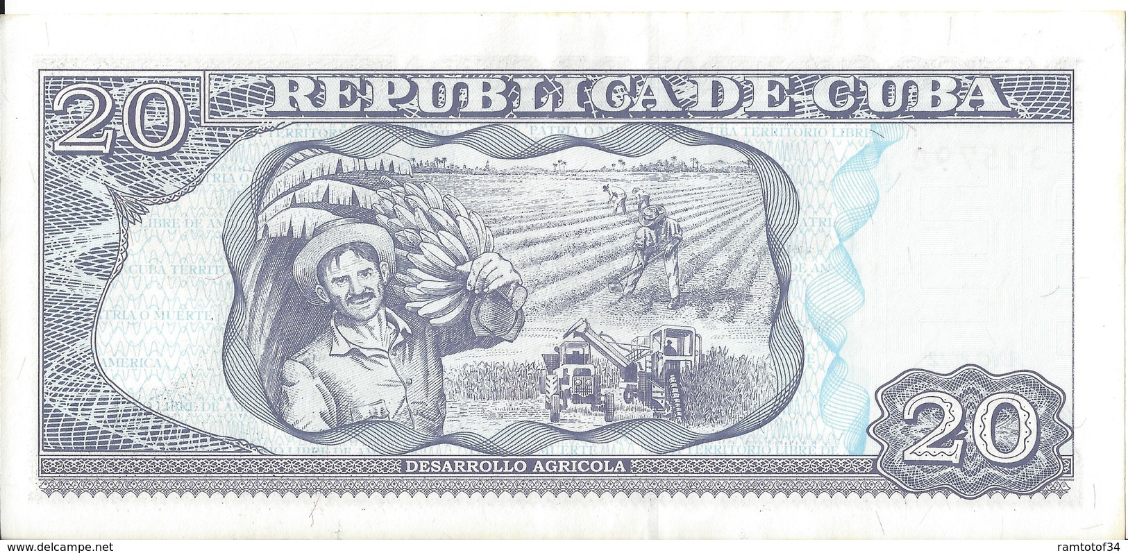 CUBA - 20 Pesos 2012 (335798) - Cuba