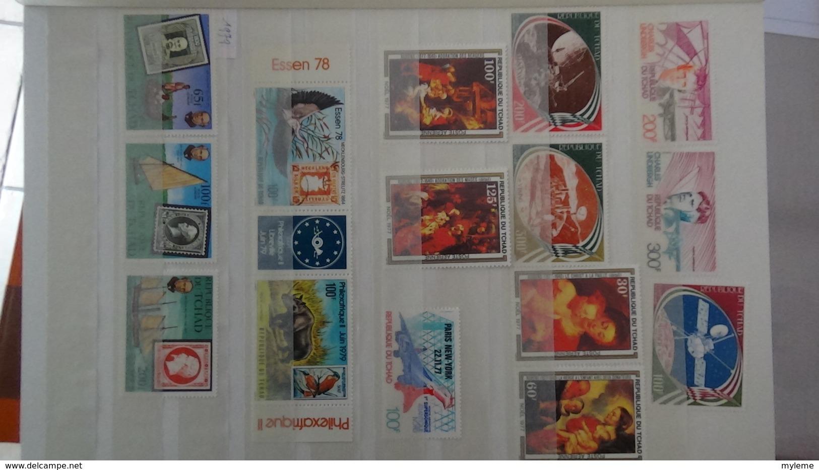 C92 Très Belle Collection Timbres Et Blocs ** Du Tchad Et Du Togo Dont Bonnes Petites Valeurs !!! - Francobolli