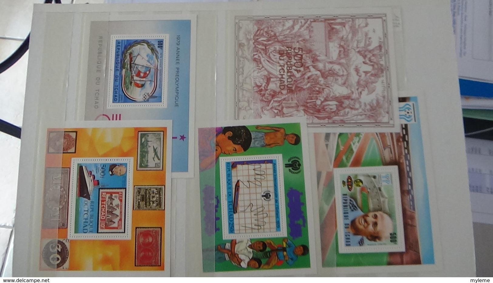 C92 Très Belle Collection Timbres Et Blocs ** Du Tchad Et Du Togo Dont Bonnes Petites Valeurs !!! - Sellos