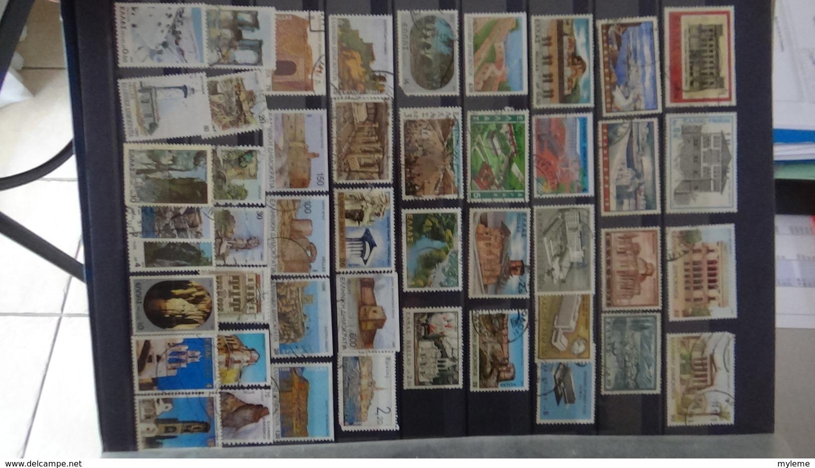 C93 Collection De Grèce,  Irelande, Italie Et Liechtenstein !!! A Saisir !!! - Timbres