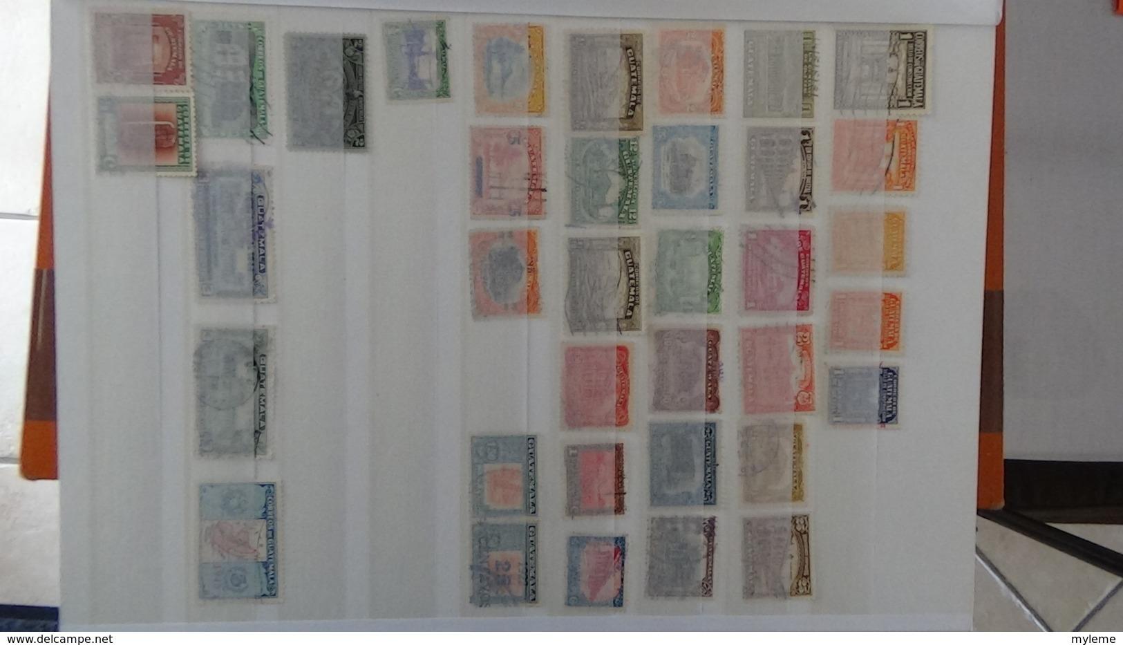 C94 Collection De Différents Pays D'Amérique Du Sud !!! A Saisir !!! - Francobolli