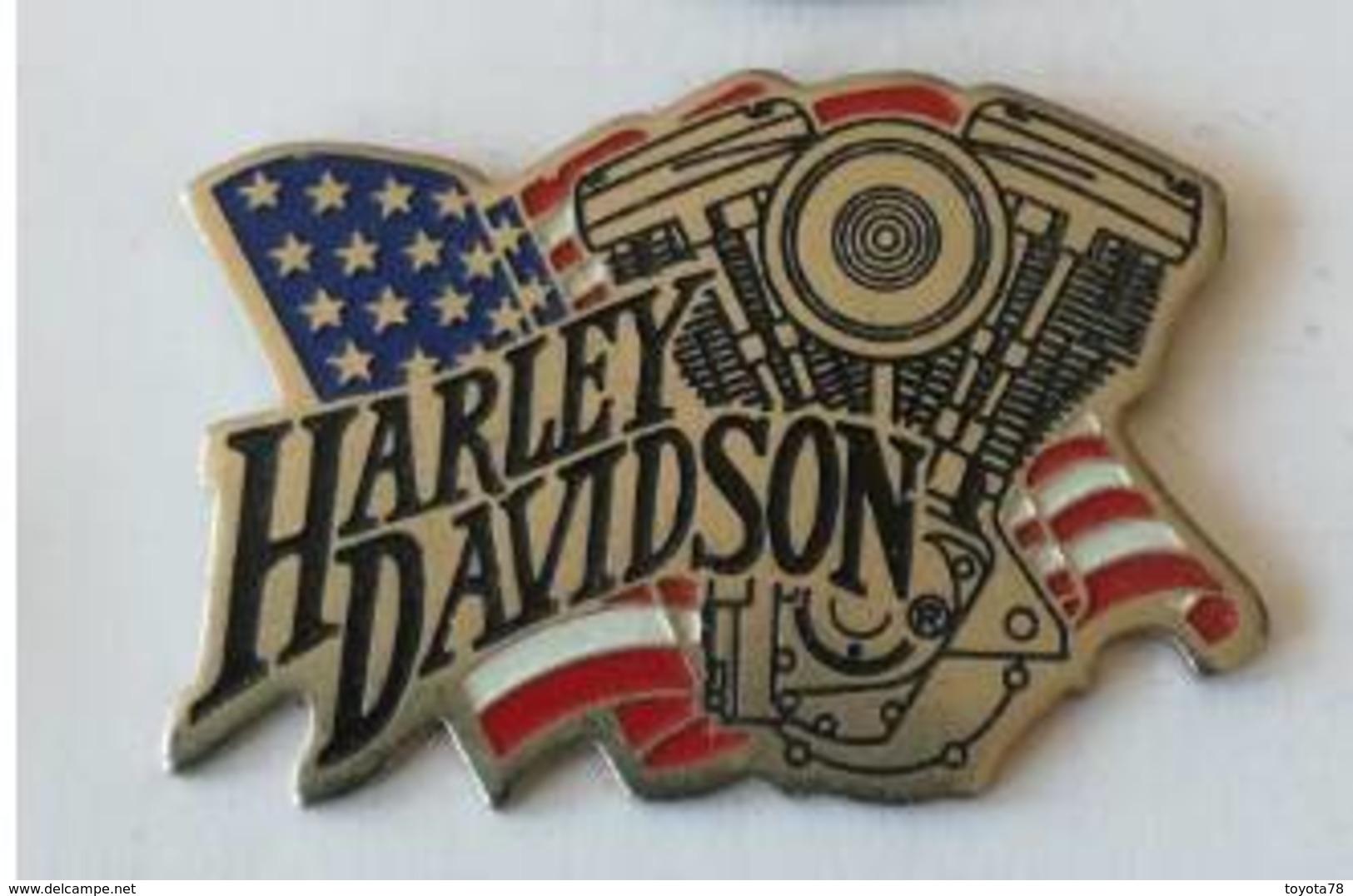 Pin's - HARLEY-DAVIDSON - Motor Cycles - Motorfietsen