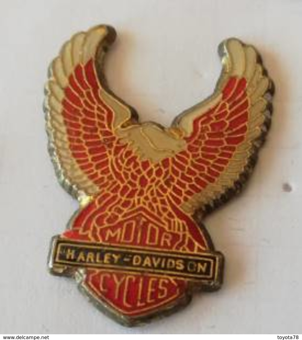 Pin's - HARLEY-DAVIDSON  Motor Cycles  - Aigle - Motorfietsen