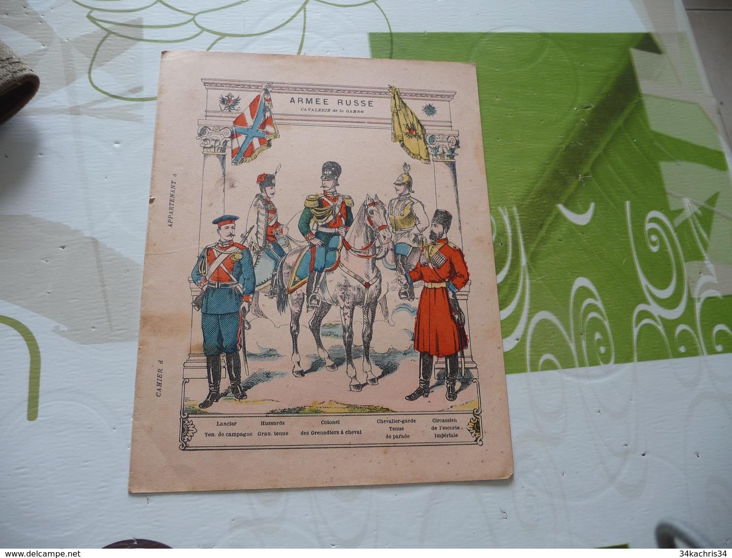 Protège Cahier Ancien Armée Russe Cavalerie De La Garde - Book Covers