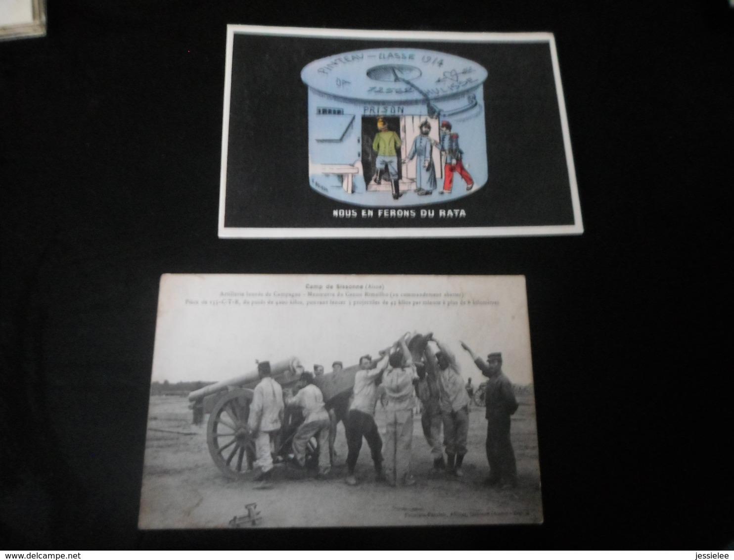 LOT DE 72 CPA / GUERRE 14-18 - VRAC - 5 - 99 Postcards