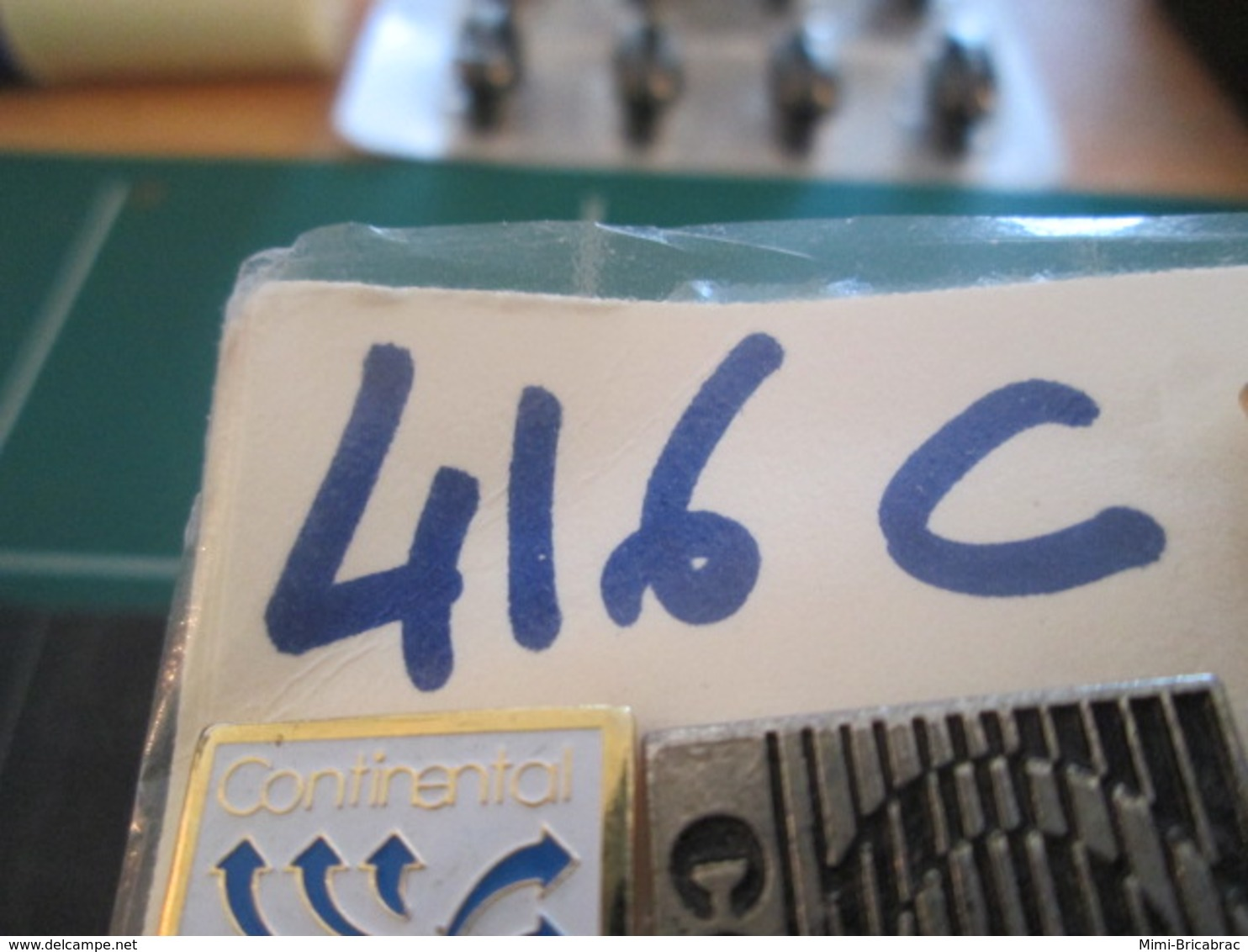 416c Pin's Pins / Beau Et Rare / THEME : MOTOS / MOTO ROUTIERE Peut être Harley-Davidson - Motorfietsen