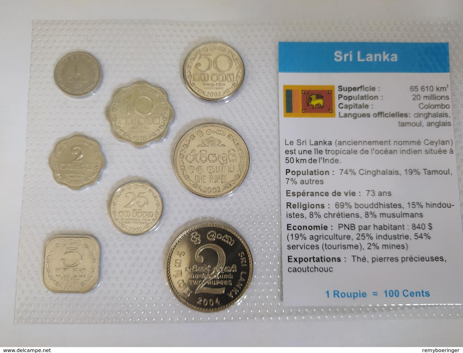 Set De Roupies – Sri Lanka - Sri Lanka (Ceylon)