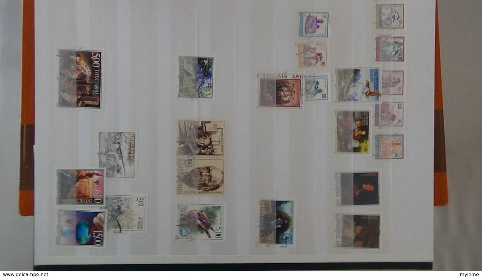 D70 Belle Collecton De Yougoslavie Bien Suivie. A Saisir !!! - Collections (with Albums)