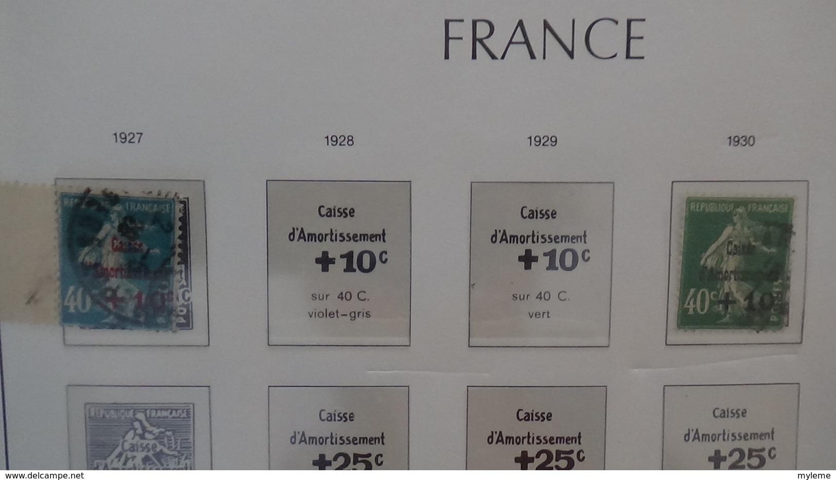 D72 Belle Collecton Oblitéré De France Dont Bonnes Petites Valeurs. A Saisir !!! - Collections (with Albums)