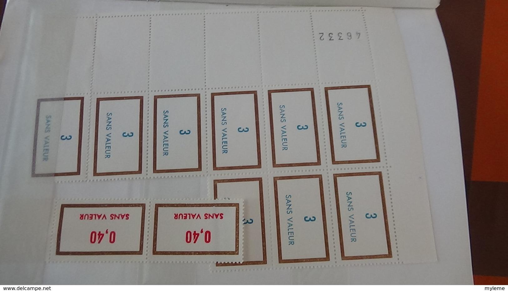 A346 Lot De Fictifs Tous ** Dans Un Carnet à Choix. A Saisir !!! - Collections (with Albums)