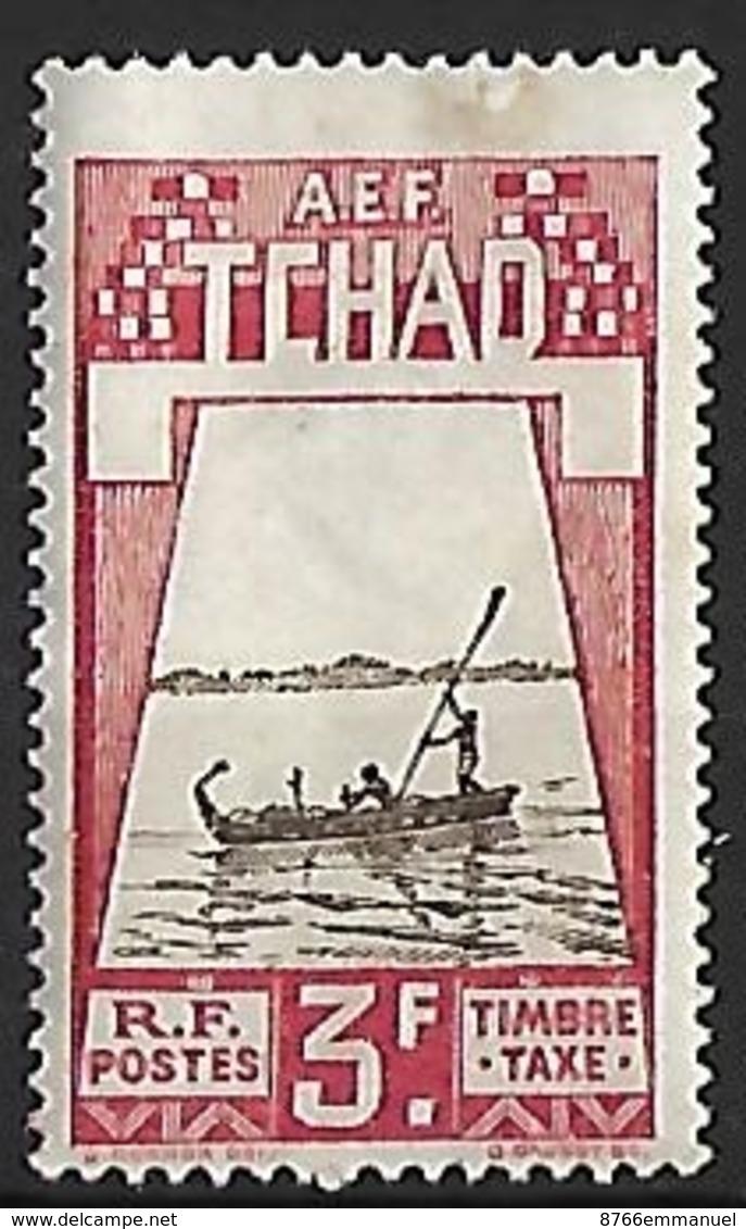 TCHAD TAXE N°22 NSG - Unused Stamps