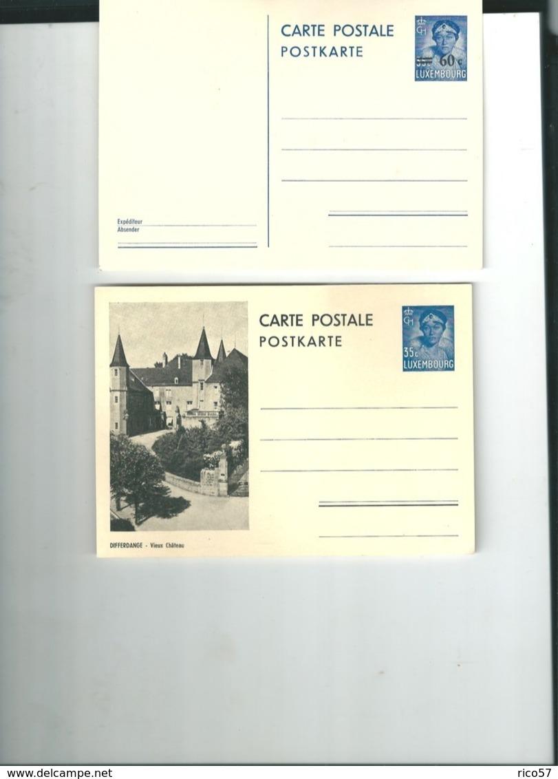 CP Differdange Vieux Château Famille Grand Ducale Timbre - Differdingen