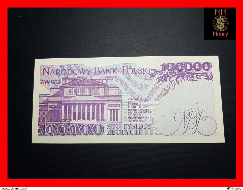 POLAND 100.000 100000 Zlotych 16.11.1993 P. 160  UNC - Polen