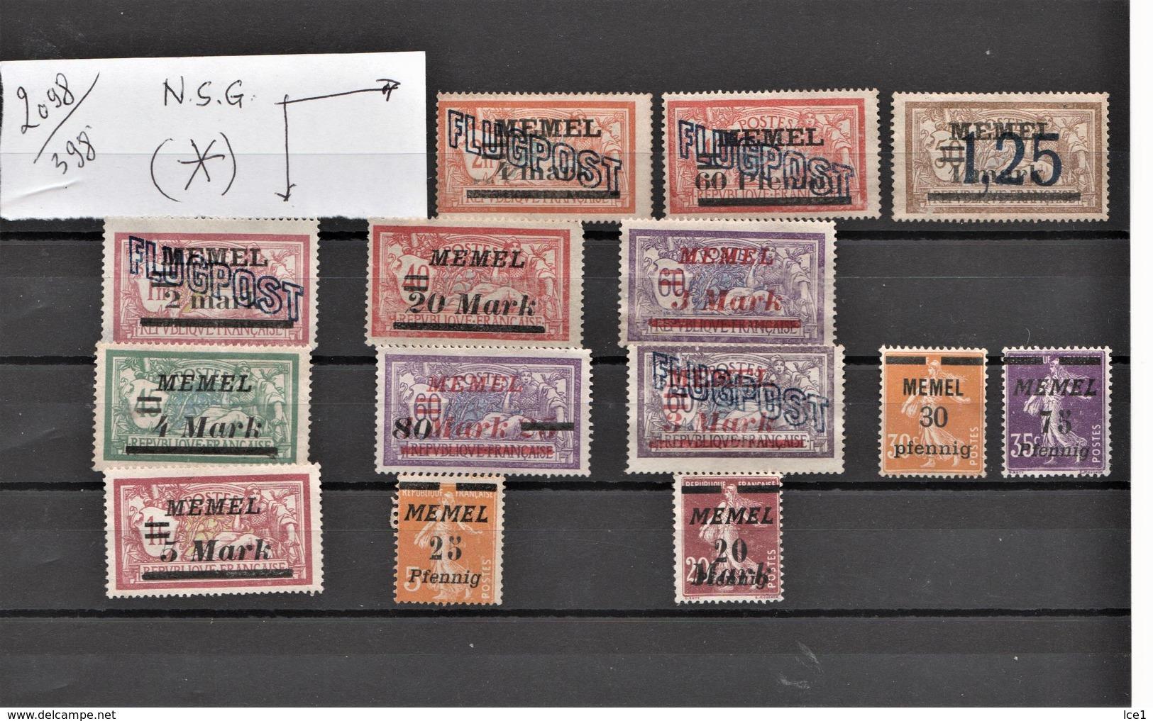 MONDE--- N 398 Port En Plus - Sammlungen (im Alben)