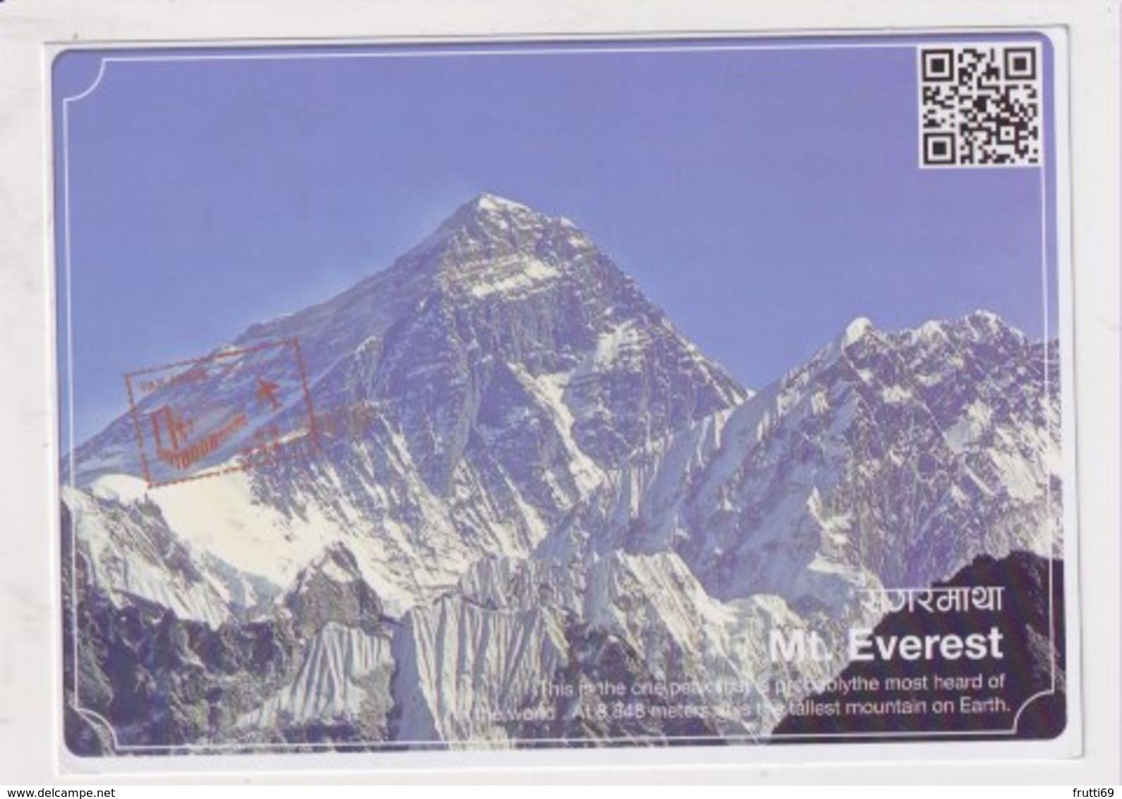 NEPAL - AK 379962 Mt. Everest - Nepal
