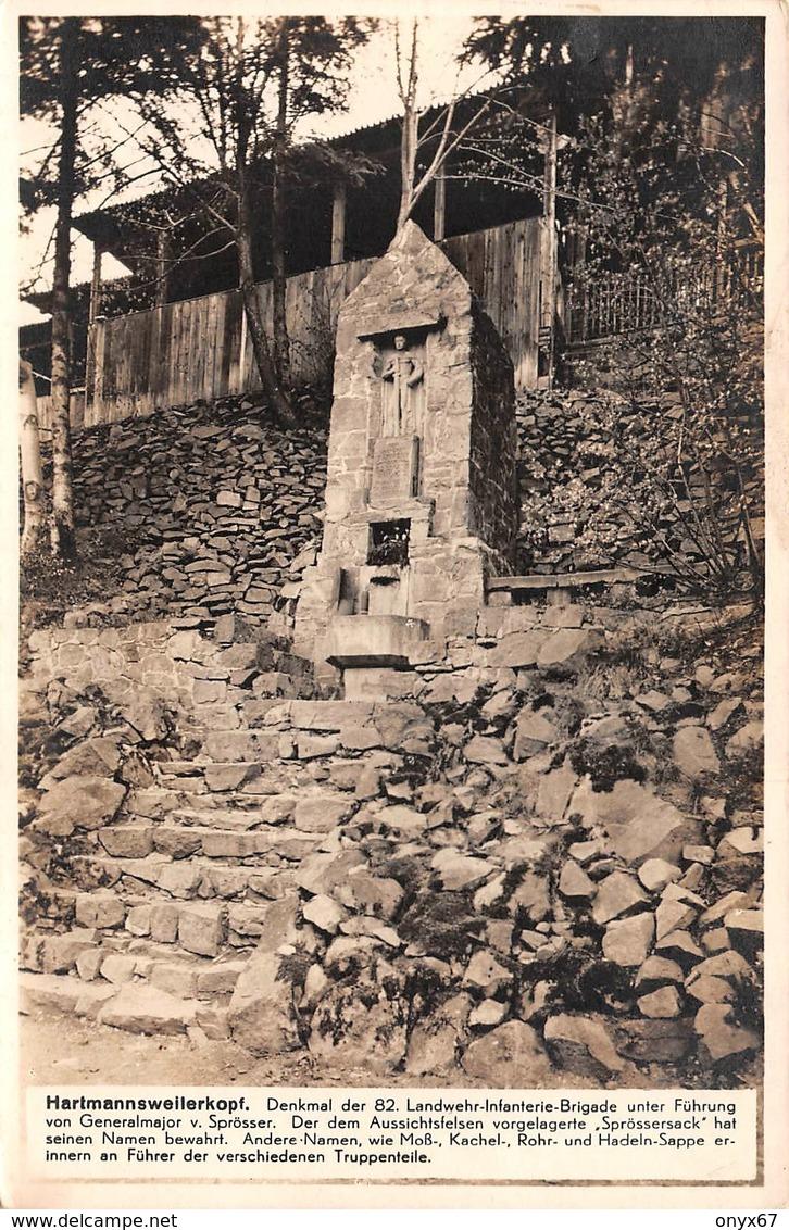 HARTMANNSWILLERKOPF-HARTMANNSWEILER-VIEIL ARMAND Denkmal 82 Landwehr Infanterie Brigade-Vogesen-Guerre-Krieg-Militaire - Otros Municipios