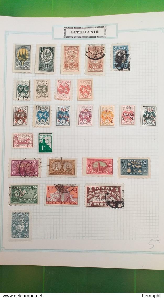 Lot N° TH.334  PAYS DIVERS   UN LOT DE TIMBRES NEUFS X - Collezioni (in Album)